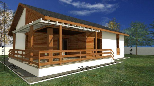 proiect casa cu terasa 01